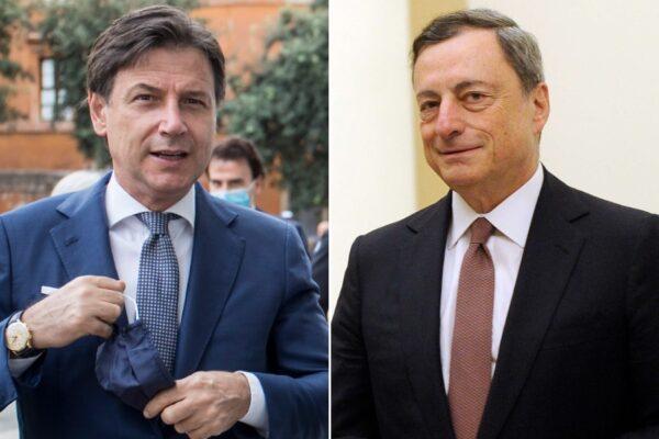 Sondaggio Swg: controsorpasso M5S su FdI. Conte e Draghi i preferiti degli italiani per Palazzo Chigi