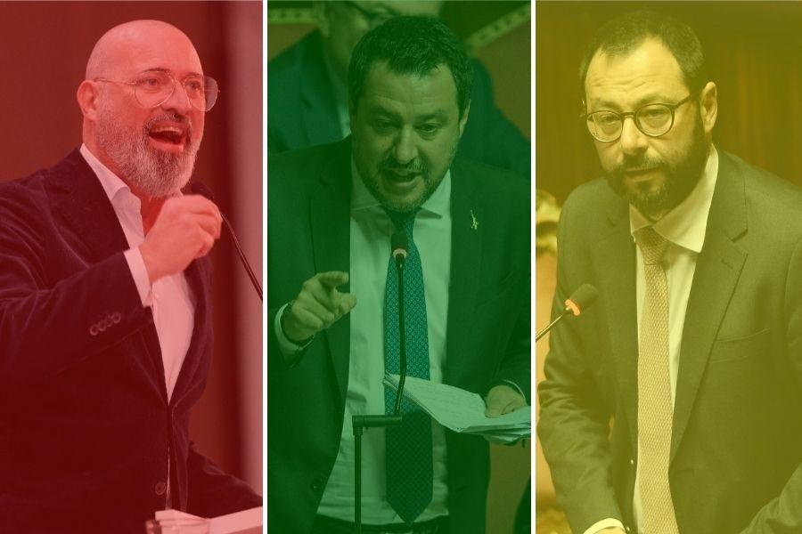 """L'asse giallo-rosso-verde in pressing su Draghi: """"Parliamo di riaperture"""""""