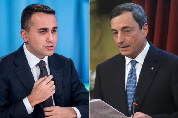 """Quando Luigi Di Maio disse di Mario Draghi: """"Mi ha fatto un'ottima impressione"""""""