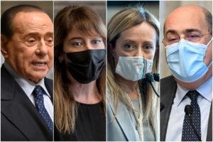 """Draghi dice 'no' alla flat tax, Salvini rassegnato: per Zingaretti """"sul governo decide il premier"""", da Berlusconi pieno sostegno"""