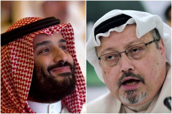 Mohammed bin Salman e Jamal Khashoggi