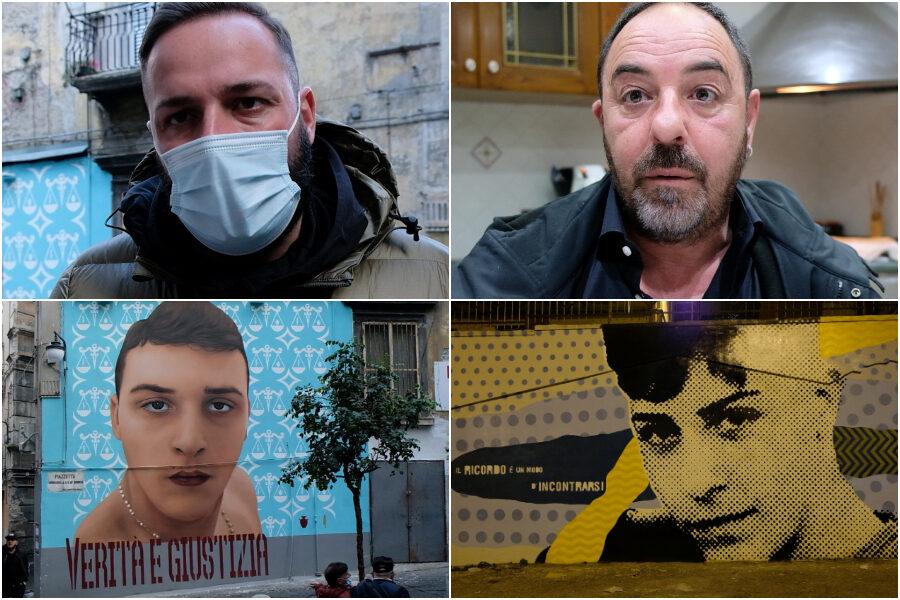 """Ugo, Davide e i murales, lo sfogo dei papà: """"Lo Stato li ha uccisi ma siamo noi i carnefici"""""""