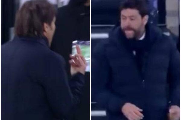 Cosa ha detto Agnelli a Conte, la lite durante Juventus Inter