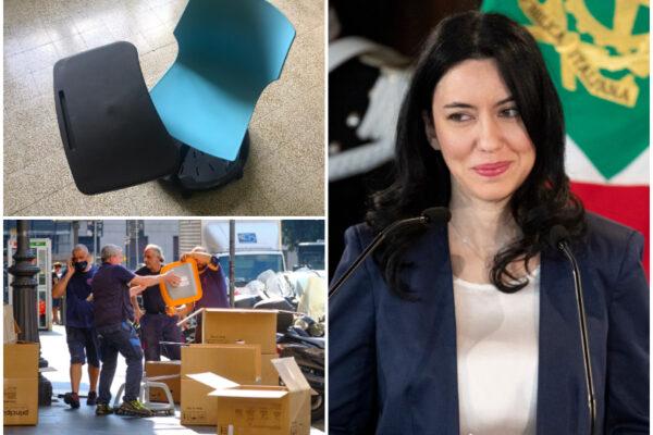 """Azzolina difende i banchi a rotelle: """"Nessuno spreco, sono all'avanguardia"""""""