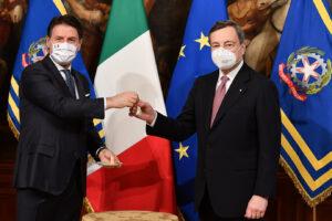 Draghi dia una sterzata, il suo governo appena un po' al di sopra della banda di dilettanti di Conte