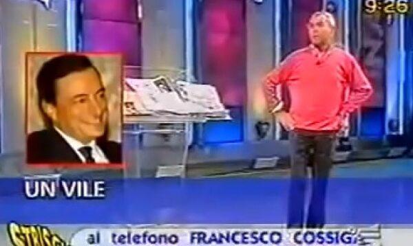 """Quando Cossiga si scagliò contro Draghi: """"E' il liquidatore dell'Italia"""""""
