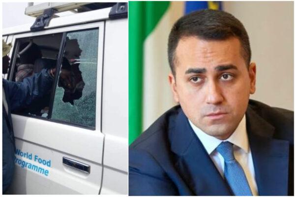 Agguato contro Attanasio, Di Maio prova a scaricare la responsabilità sull'Onu
