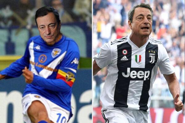 """""""Draghi è come Ronaldo"""", """"no, ha la classe di Baggio"""": il governo non è nato ma già litiga sulle metafore calcistiche"""