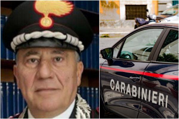 """È morto Giuseppe Genovese, colonnello dell'Arma: """"Il covid si porta via un militare sempre pronto ad aiutare"""""""
