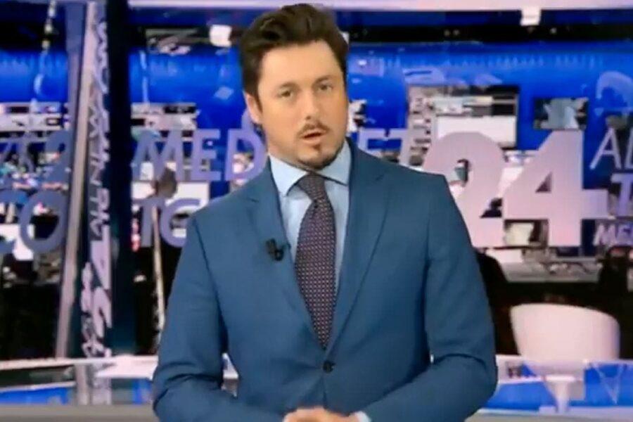 Chi è il compagno di Giorgia Meloni: Andrea Giambruno il giornalista Tv