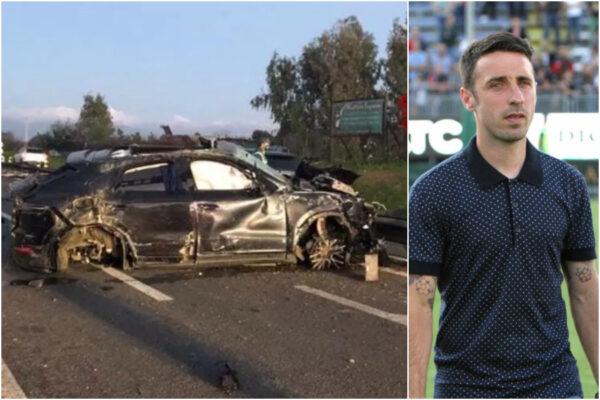 Come sta Andrea Cossu, ex calciatore vittima di un gravissimo incidente in auto