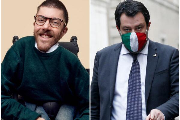 """Iacopo Melio zittisce Salvini: """"Basta con pietismo e sciacallaggio sui disabili"""""""
