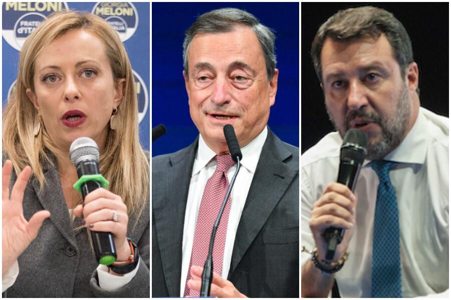 Coprifuoco, Draghi ribadisce la revisione a maggio ma Salvini fa opposizione con Meloni