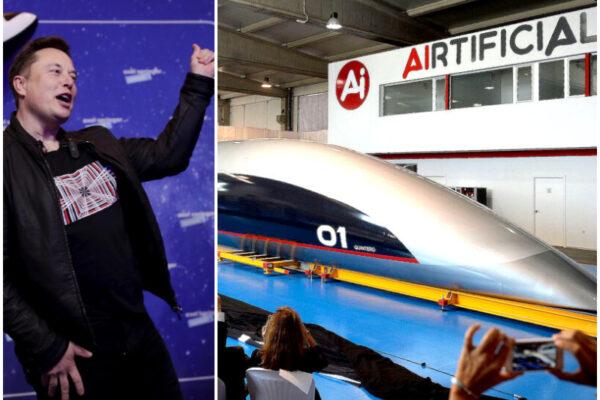 """""""Da Milano a Roma in mezz'ora con hyperloop"""", il super-treno di Elon Musk sempre più realtà"""