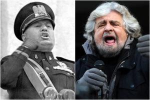 Dai fascisti ai 5Stelle, tutte le cose che accomunano il Movimento di Grillo a quello di Mussolini