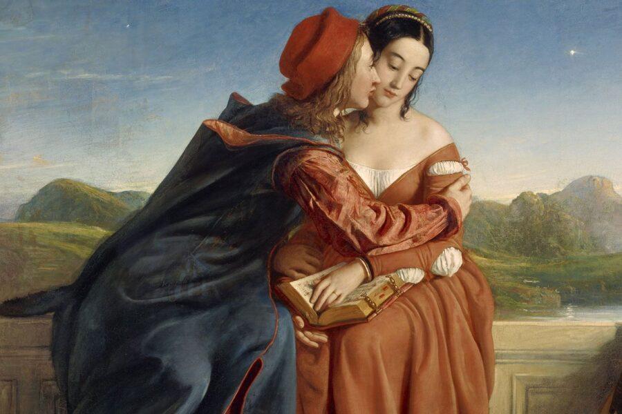 Viaggio nella poesia di Dante, la storia di Paolo e Francesca tra oscurità e bellezza