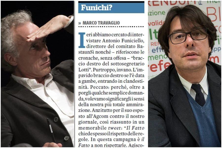 Funiciello torna a Palazzo Chigi e Travaglio si infuria: i precedenti col Fatto Quotidiano