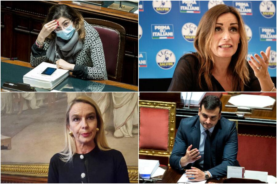 """Borgonzoni, Sibilia, Pucciarelli e Castelli: i nomi che imbarazzano """"i migliori"""" di Draghi"""