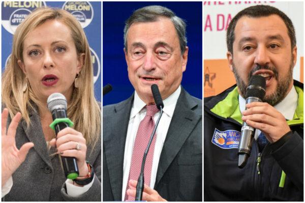 Draghi 'accerchiato' da Salvini e Meloni, pressing per eliminare il coprifuoco alle 22