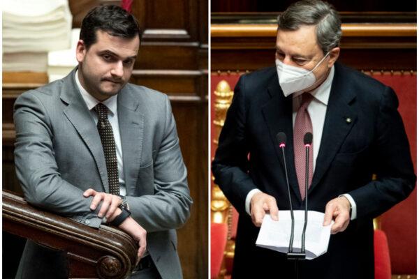 """""""Bankster, arrestatelo, vaffa!"""", il sottosegretario Sibilia ripulisce i social dalle offese a Draghi"""