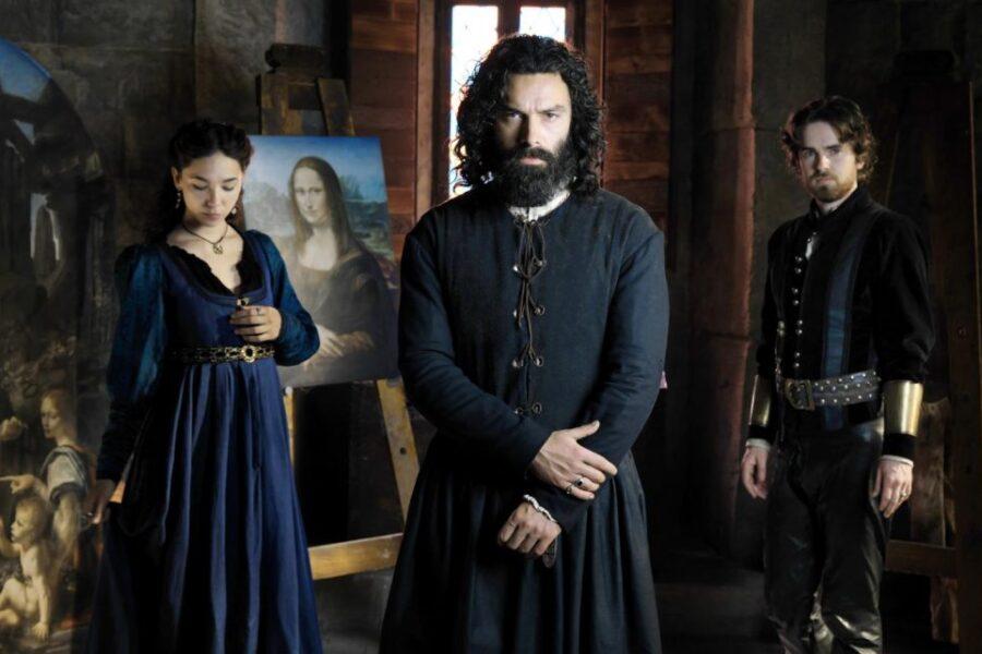 Leonardo Da Vinci, la fiction tra l'omosessualità e Caterina da Cremona