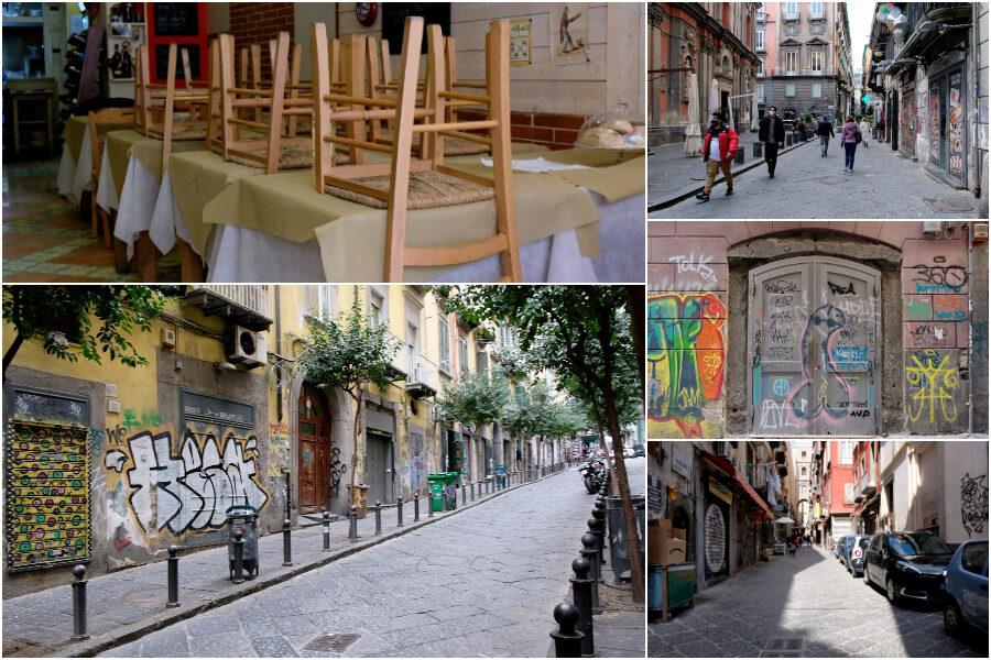 """Pasqua, la desolazione del centro storico di Napoli: """"Non c'è nessuno a cui vendere, restiamo chiusi"""""""