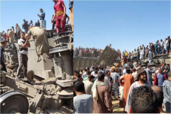 Egitto, collisione tra i due treni fa 32 morti e 84 feriti