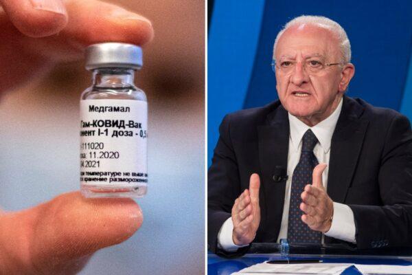 "Vaccino Sputnik in Campania, così De Luca ha agganciato Putin: ""Inutile tornare indietro"""