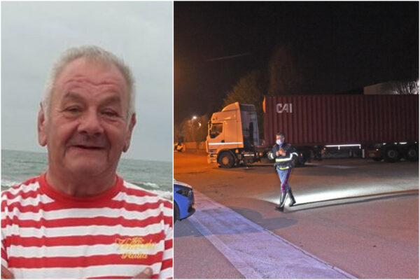 La tragedia di Guglielmo, travolto e ucciso dal camion di un collega l'ultimo giorno di lavoro