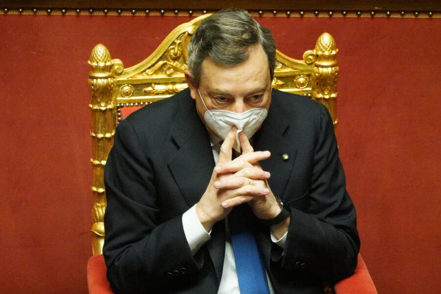 MARIO DRAGHI PRESIDENTE DEL CONSIGLIO DEI MINISTRI