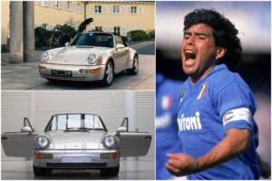 La Porsche 911 di Maradona finisce all'asta: l'auto del Pibe acquistabile online