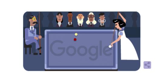 Chi era Masako Katsura, campionessa di biliardo protagonista del doodle di Google