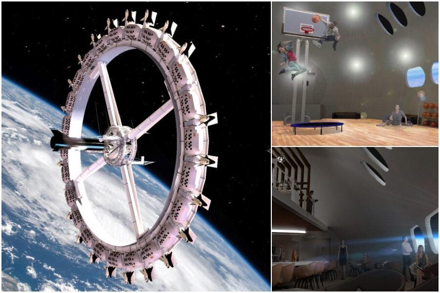 Ecco Voyager Station, il primo hotel nello spazio aprirà entro il 2027