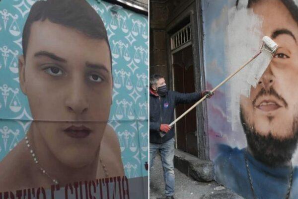 A Napoli lo Stato mostra solo i muscoli: via altarini e murales dedicati ai morti ammazzati