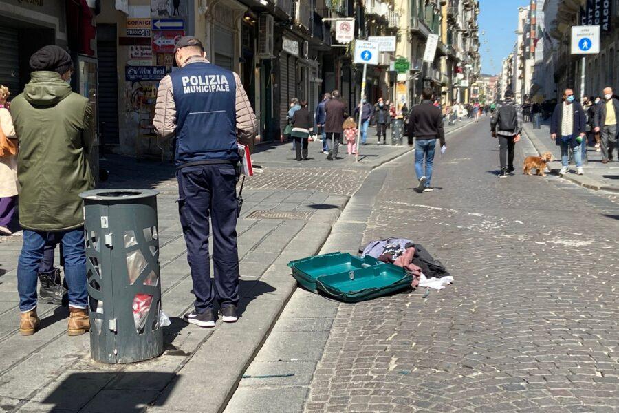 """Esplosione in via Toledo, paura per pacco bomba: """"Ma erano solo panni"""""""