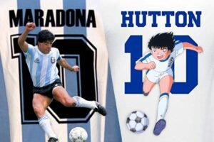"""Oliver Hutton era Maradona"", la rivelazione dell'autore di Holly e Benji"