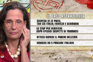 """Ilaria Capua su AstraZeneca: """"Ho detto a mia madre di non pensarci due volte, il vaccino funziona"""""""