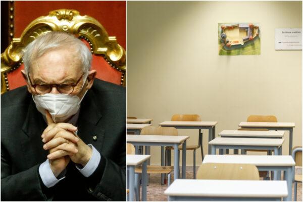 """Scuole chiuse in zona arancione, Bianchi: """"Se i negozi sono aperti, ragazzi in classe"""""""
