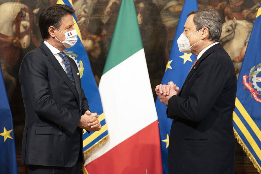 Da Conte a Draghi non cambia niente, l'oligarchia al potere in Italia