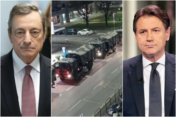 Draghi rimette al centro i morti per Covid che Conte aveva rimosso