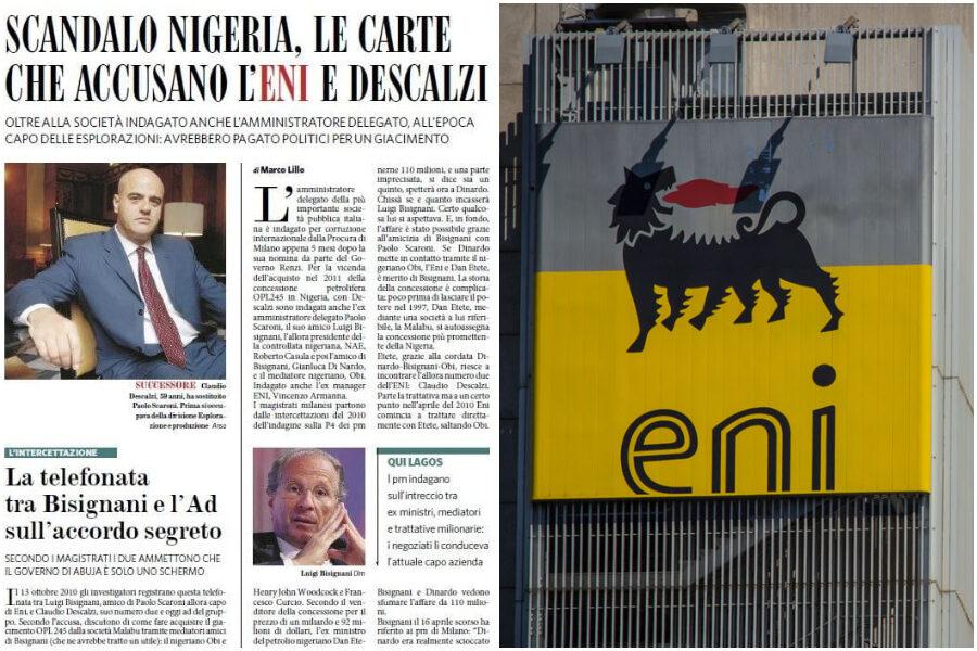 Tutti assolti, la tangente Eni alla Nigeria non esisteva, i giornali che la davano per certa chiederanno scusa?