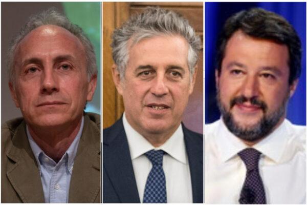 Salvini, Travaglio e Di Matteo: la strana alleanza che fa carta straccia della Costituzione