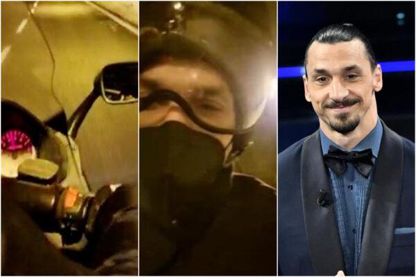 """Ibrahimovic in moto a Sanremo, parla il motociclista che lo ha salvato dal traffico: """"Voleva guidare lui, mia moglie non mi credeva"""""""