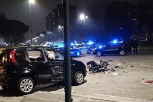 Schianto tra auto e moto a Napoli, Alessandro e Genny muoiono nell'impatto a Scampia