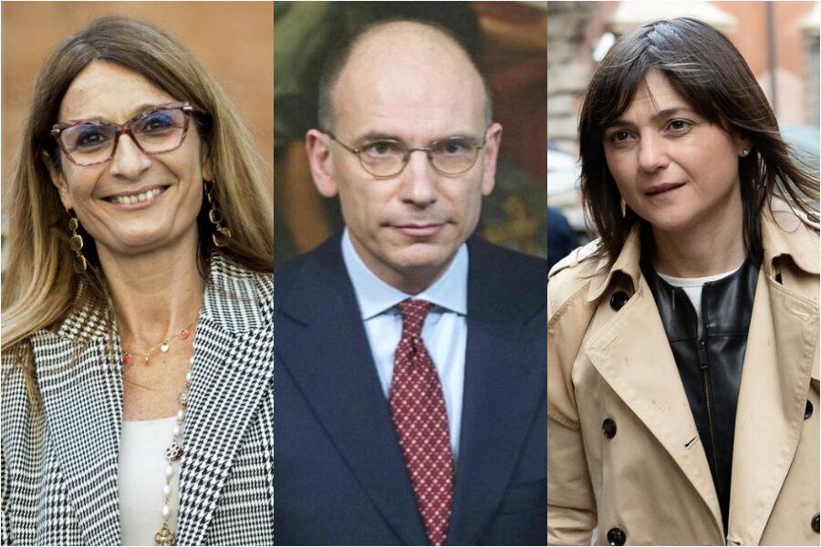 Letta vince a metà: con Serracchiani e Malpezzi due donne capogruppo ma non sono fedelissime