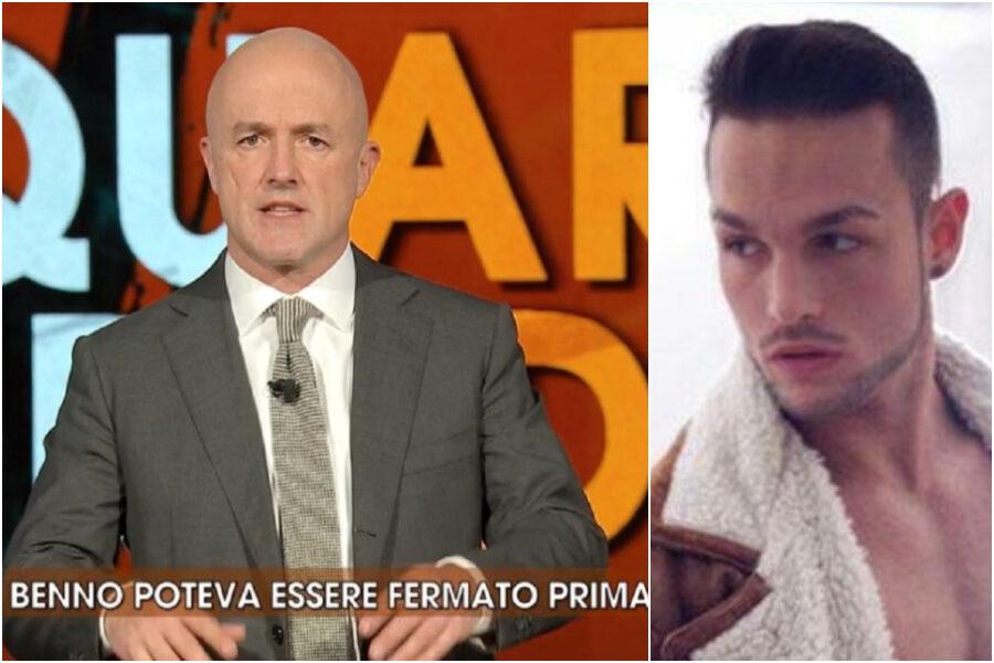 Quarto Grado, Nuzzi manda in onda la confessione di Benno che diventa una soap