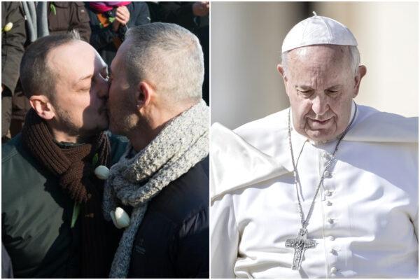 """Papa Francesco contro le coppie gay, ex prete: """"Non siamo pedofili…"""""""