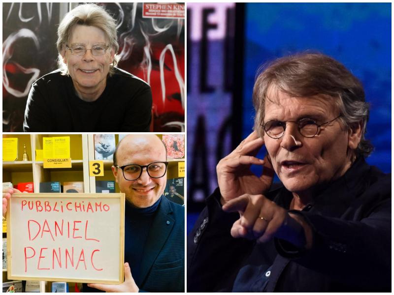 """Scampia, dopo Stephen King pubblica Pennac: """"E non avete visto ancora niente!"""""""
