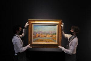 Churchill e il dipinto da record: venduto all'asta per oltre 9 milioni di euro da Angelina Jolie