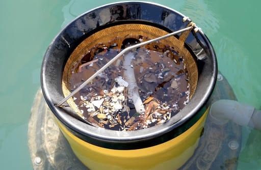 Settimana della natura, azioni di pulizia per un mare più pulito: al via la raccolta fondi per comprare i cestini galleggianti per i rifiuti